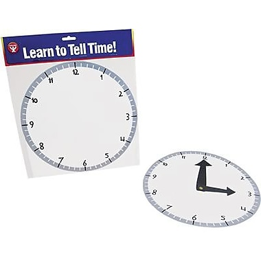 Hygloss® Blank Clock Kit, 24/Set