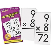 Trend Enterprises® Skill Drill Flash Cards, Multiplication 0 - 12