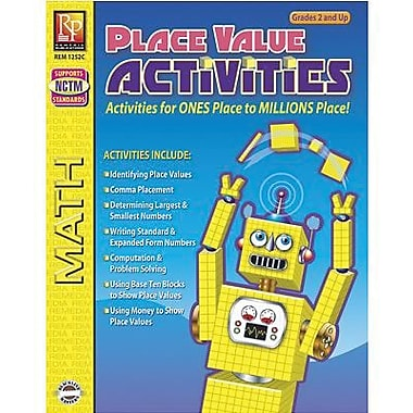 Remedia® Place Value Activity Book, Grades Pre School - 12th