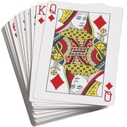 Learning Advantage Probability Giant Playing Cards
