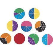 Learning Resources® Deluxe Rainbow Fraction Circles, Grades 1st - 8th