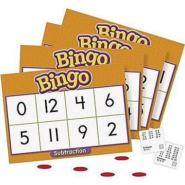 Trend Enterprises® Bingo Game, Subtraction