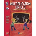 On The Mark Press® Multiplication Math Drill Book, Grades 4th - 6th