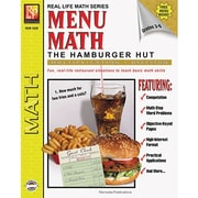 Remedia® Menu Math Hamburger Hut Book 2nd, Multiplication and Division, Grades 3rd - 6th