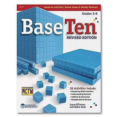Learning Resources® Base 10 Revived Activity Book, Grades 3rd - 6th