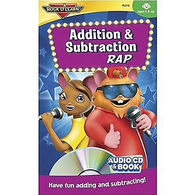 Rock 'N Learn® Audio CD and Book, Addition and Subtraction Rap, Grades 1st - 12th