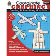 Teacher Created Resources® Coordinate Graphing Book, Grades 5th - 8th