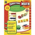 Teacher Created Resources® Targeting Math Series Numeration and Fractions Book, Grades 1st - 2nd
