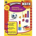 Teacher Created Resources® Targeting Math Series Geometry, Chance and Data Book, Grades 1st - 2nd