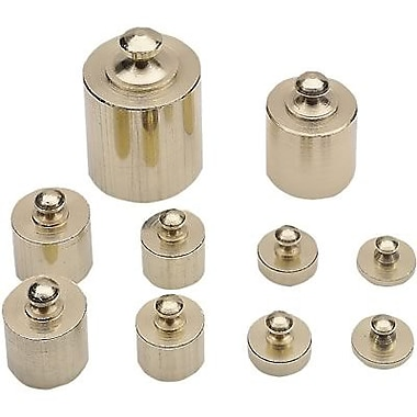 Learning Resources® Measurement Tools, Brass Mass Set