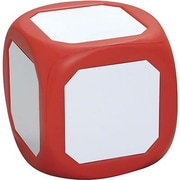 Learning Advantage™ Magnetic Write-On Wipe-Off Probability Die, Red