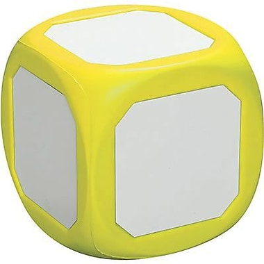Learning Advantage™ Magnetic Write-On Wipe-Off Probability Die, Yellow