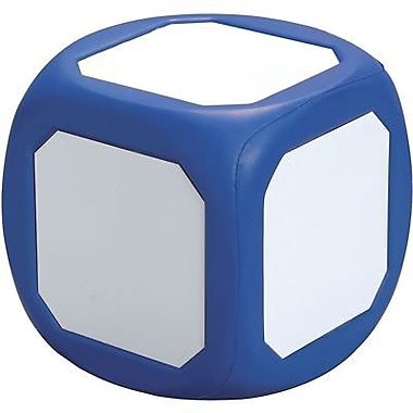 Learning Advantage™ Magnetic Write-On Wipe-Off Probability Die, Blue