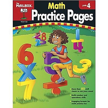 The Mailbox Books® Math Practice Page, Grades 4th