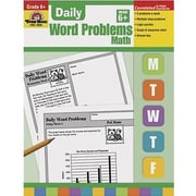 Evan-Moor® Daily Word Problems Book, Grades 6th+