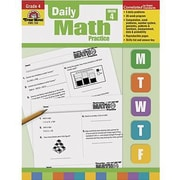 Evan-Moor® Daily Math Practice Book, Grades 4th