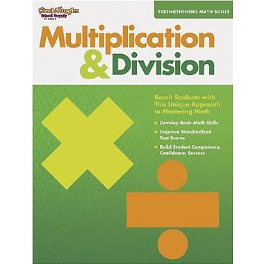 Harcourt Strengthening Math Skills Multiplication and Division Book, Grades 1st - 5th