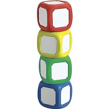 Learning Advantage™ Magnetic Write-On Wipe-Off probability Dice Set, 4/Set