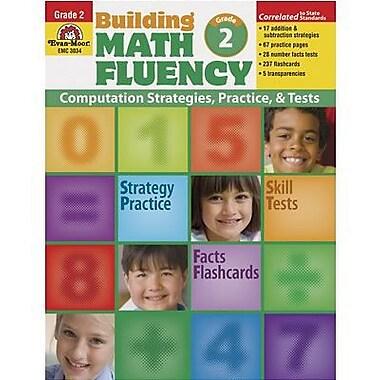 Evan-Moor® Building Math Fluency Book, Grades 2nd