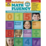 Evan-Moor® Building Math Fluency Book, Grades 4th - 6+