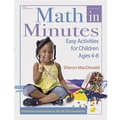 GRYPHON Math In Minutes Activity Book, Grades Pre School - 3rd