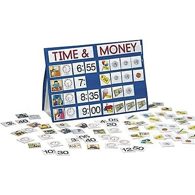 Smethport™ Specialty Tabletop Pocket Chart, Time and Money