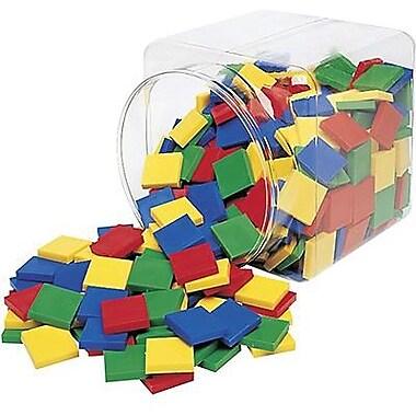 Learning Resources® Square Color Tiles, Grades Kindergarten - 1st