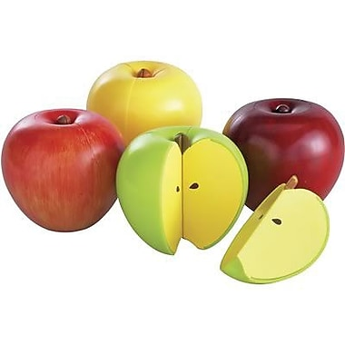 Learning Resources® Magnetic Apple Fractions, Grades K+