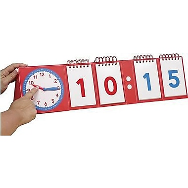 Educational Insights® Modular Flip Chart, Telling Time