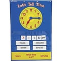 Learning Resources® Teaching Time Pocket Chart, Grades 1st - 3rd