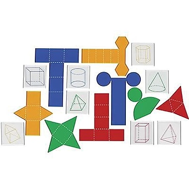 Learning Resources® Folding Geometric Shapes Combo Set, Grades 2nd - 6th