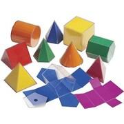 Learning Advantage Folding 3-D GeoFigures
