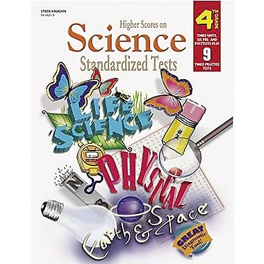 Harcourt® Higher Scores On Science Standardized Tests Book, Grades 4th