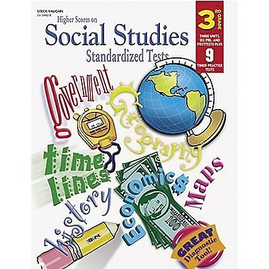 Harcourt® Higher Scores On Social Studies Standardized Tests Book, Grades 3rd