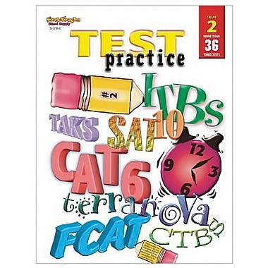 Harcourt® Test Practice Book, Grades 2nd