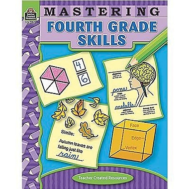 Teacher Created Resources® Mastering Fourth Grades Skills Book, Grades 4th