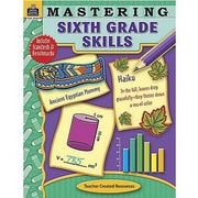 Teacher Created Resources® Mastering Sixth Grades Skills Book, Grades 6th