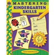 Teacher Created Resources® Mastering Kindergarten Skills Book, Grades Kindergarten