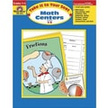 Evan-Moor® Take It To Your Seat Math Centers Book, Grades 1st - 3rd