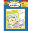 Evan-Moor® Take It To Your Seat Math Centers Book, Grades 2nd - 3rd