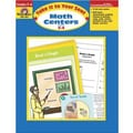 Evan-Moor® Take It To Your Seat Math Centers Book, Grades 3rd - 4th