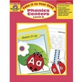 Evan-Moor® Take It To Your Seat Phonics Centers Teacher Resource Book, Grades Pre Kindergarten-K