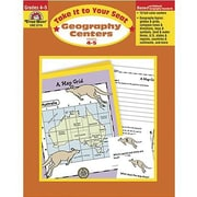 Evan-Moor® Take It To Your Seat Geography Centers Book, Grades 4th - 5th