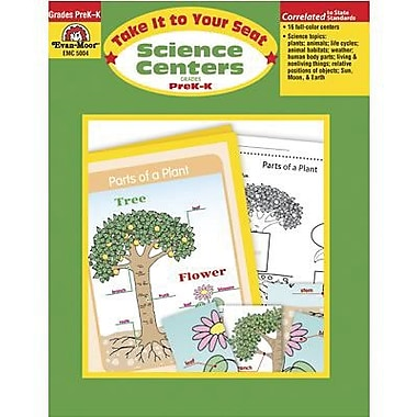 Evan-Moor® Science Center Resource Book, Grades Pre Kindergarten - Kindergarten
