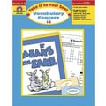 Evan-Moor® Take It To Your Seat Vocabulary Centers Teacher Resource Book, Grades 1st - 2nd