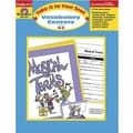 Evan-Moor® Take It To Your Seat Vocabulary Centers Teacher Resource Book, Grades 4th - 5th