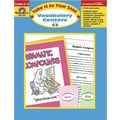 Evan-Moor® Take It To Your Seat Vocabulary Centers Teacher Resource Book, Grades 5th - 6th