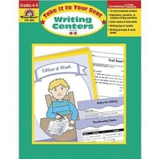 Evan-Moor® Take It To Your Seat Writing Centers Book, Grades 4th - 5th