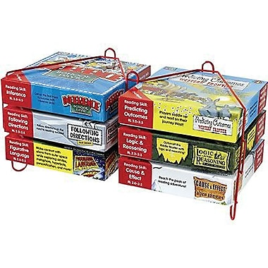 Edupress® Learning Well® Critical Thinking Skill Booster Game Set, Red Level 2.0-3.5