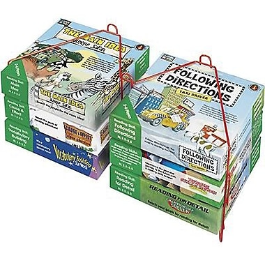 Edupress® Learning Well® Critical Thinking Skill Booster Game Set, Green Level 5.0-6.5